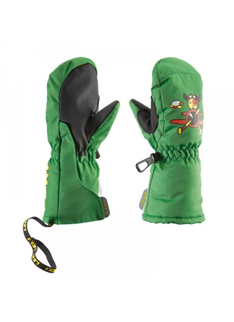 Dětské lyžařské rukavice LEKI Little Pilot mitten green  b3ef02011a