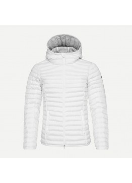 Dámská péřová bunda KJUS Cypress hooded white