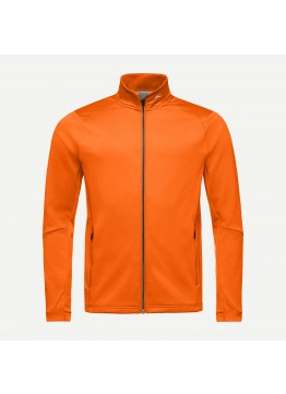 Pánská mikina KJUS Diamond Fleece jacket Kjus orange