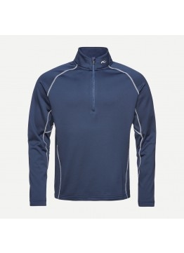 Pánská mikina KJUS Diamond Fleece HZ atlanta blue