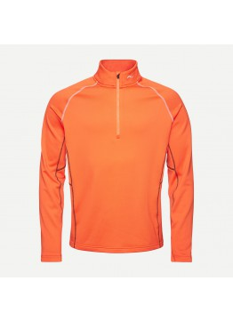 Pánská mikina KJUS Diamond Fleece HZ K orange