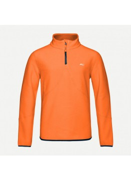 Chlapecká mikina KJUS Charger Fleece HZ KJUS orange