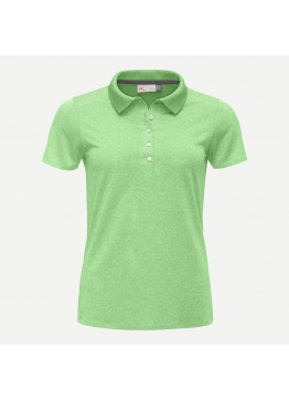 Dámské polo KJUS Signe Engineered S/S paradise green melange