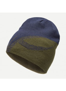 Čepice KJUS Uprising beanie forest night-atlanta blue