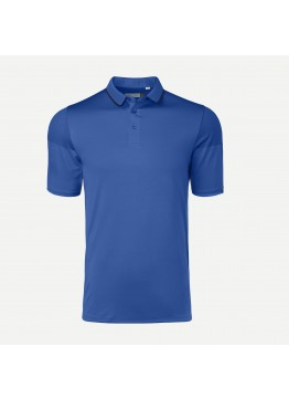 Pánské polo KJUS X-Stretch Lionel strong blue